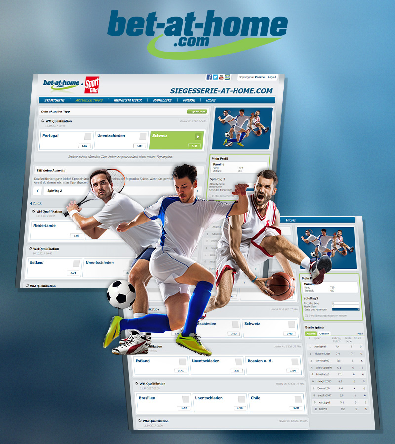 Streak Predcitor for bet-at-home.com and SPORT BILD