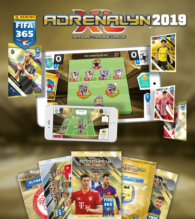 Panini FIFA 365 Adrenalyn XL™ 2018 Mobile-Spiel