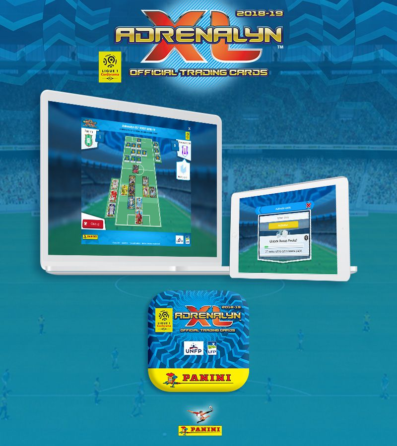 Panini Adrenalyn XL™ Ligue 1 2018 Mobile App