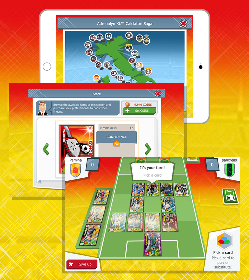Panini Adrenalyn XL™ Serie A Mobile App