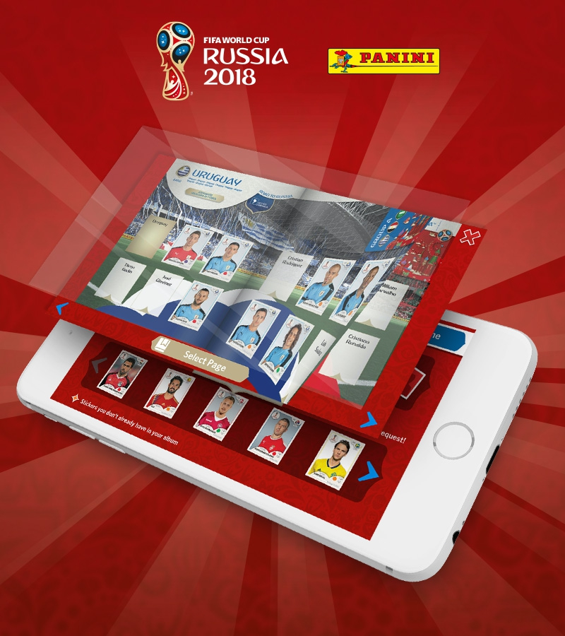 Panini Stickeralbum World Cup Russia 2018 Mobile App