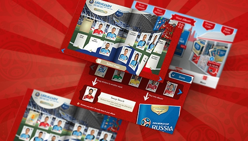Sticker album World Cup Russia